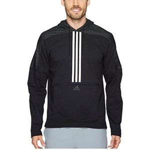 Adidas Oversized Stripped Hoodie